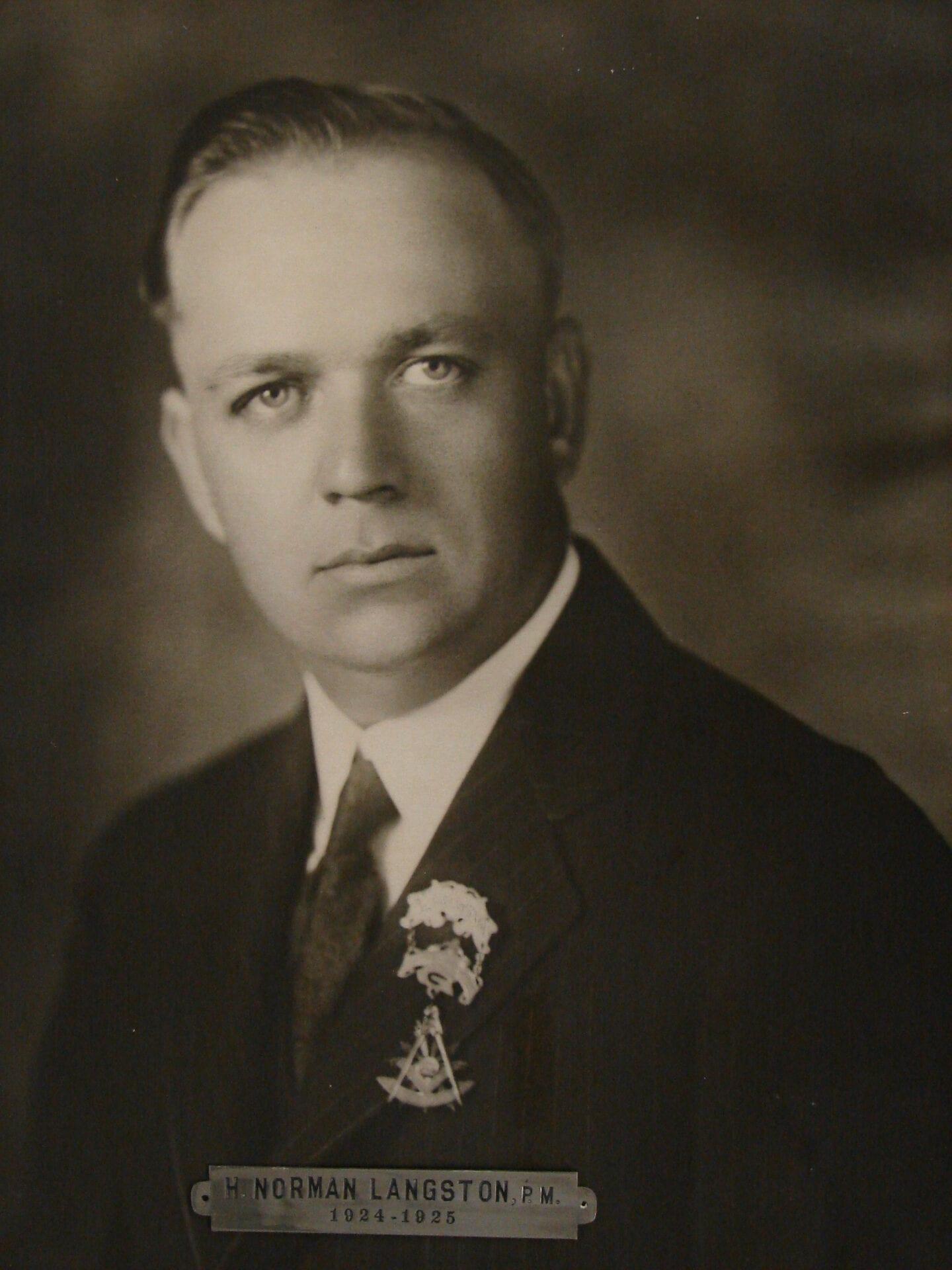 H Norman Langston