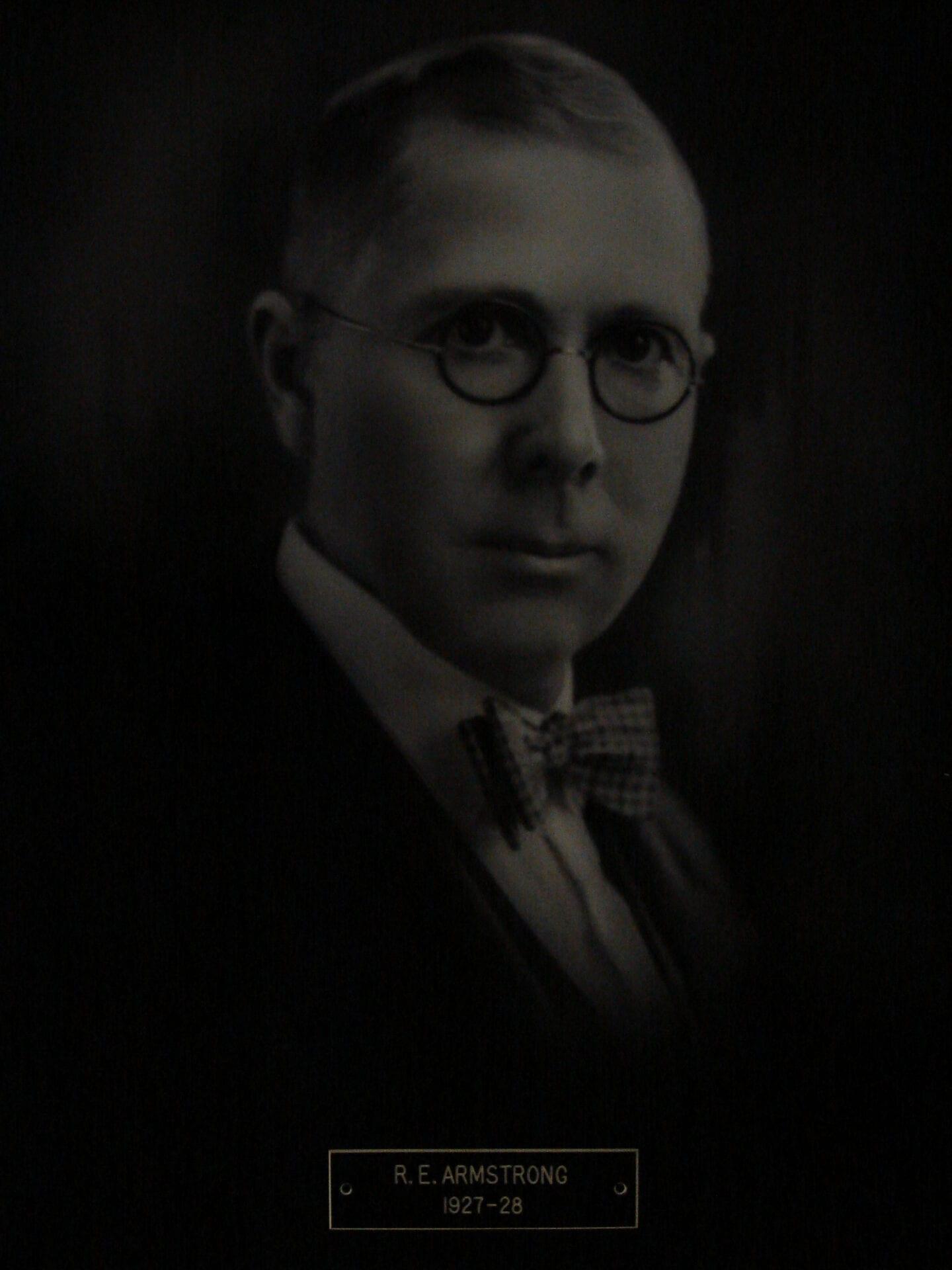 R E Armstrong